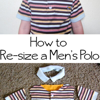 How to Resize a Polo Shirt