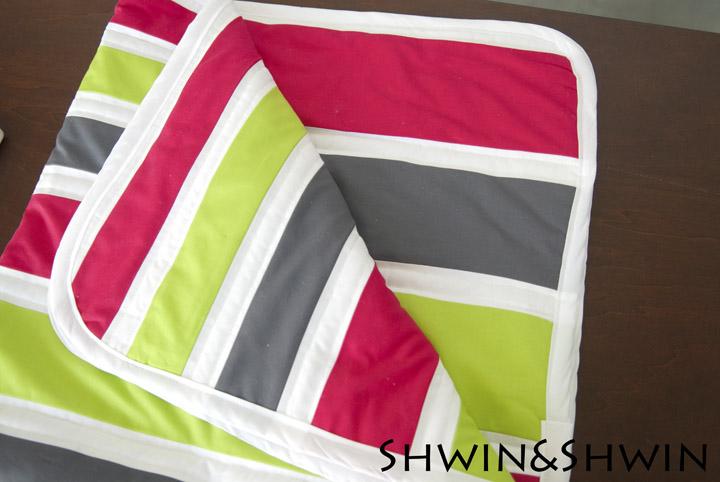 The Gradient Color Block Quilt