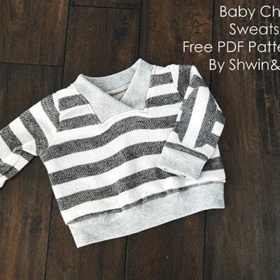 Charlie Sweatshirt || Free Sweatshirt Pattern