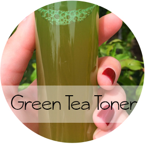 DIY Green Tea Toner