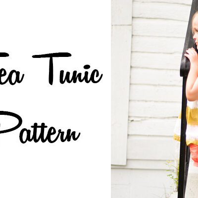 Sweet Tea Tunic || Free PDF Pattern