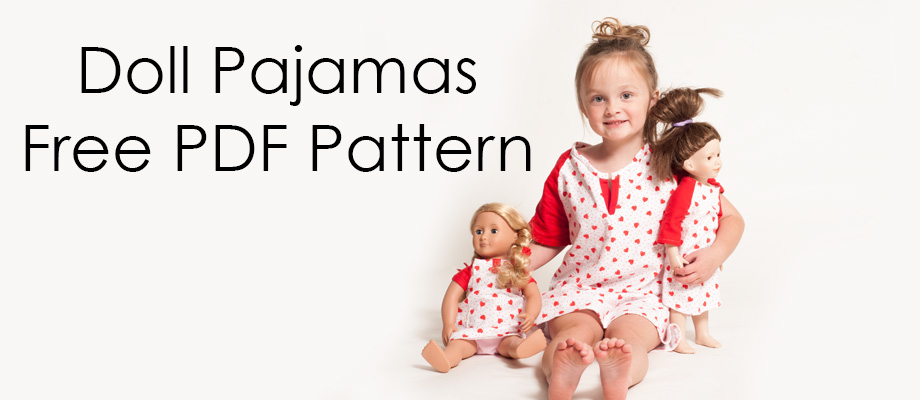 Doll Pajamas || Free PDF Pattern