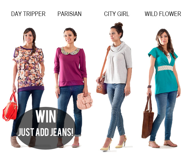 Just Add Jeans || Pattern Anthology || Giveaway