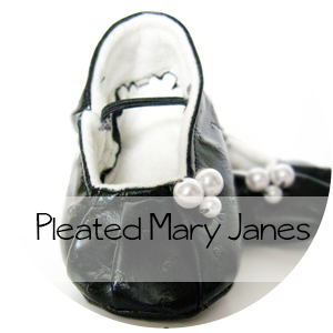 The Pleated Mary Jane Shoe Pattern