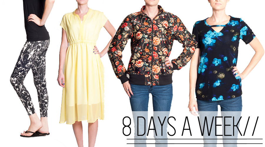 8 Days a Week Collection || Pattern Anthology Fall 2013