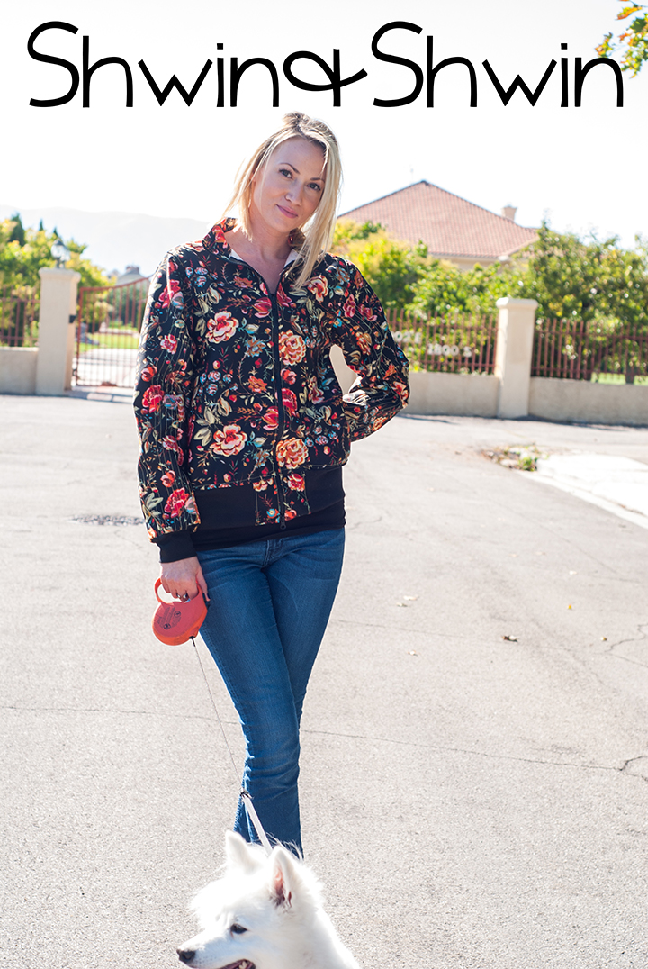 Floral McCartney Jacket || 8 Days A Week