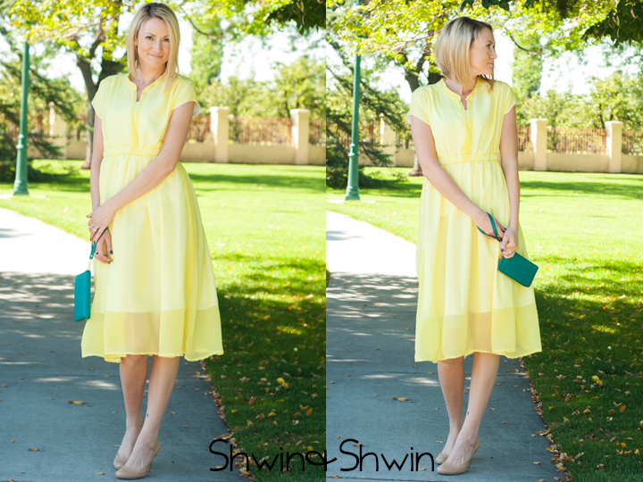 The Yellow Dress || Marigold Pattern