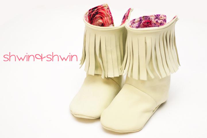 Fringe Baby Boots Free Pdf Pattern Shwin Amp Shwin