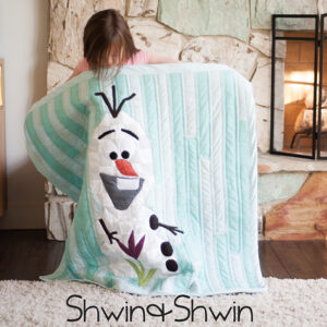 Olaf Frozen Quilt || Free Pattern and Tutorial || Shwin&Shwin