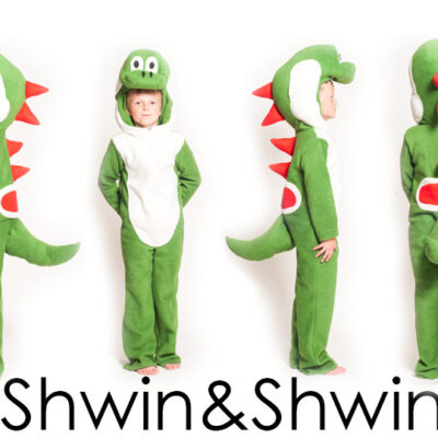 DIY Yoshi Costume