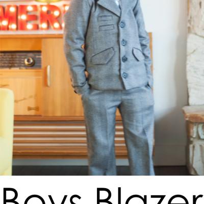 Boys Blazer Pattern || Day 4