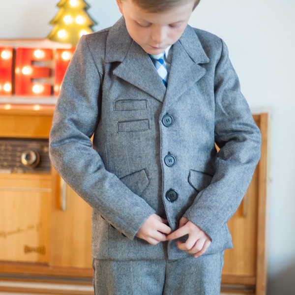 Boys Blazer Pattern Sew-a-long ||FREE PDF Pattern || Finishing up