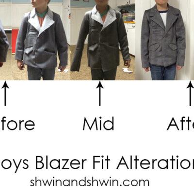 Boys Blazer Pattern || Day 2