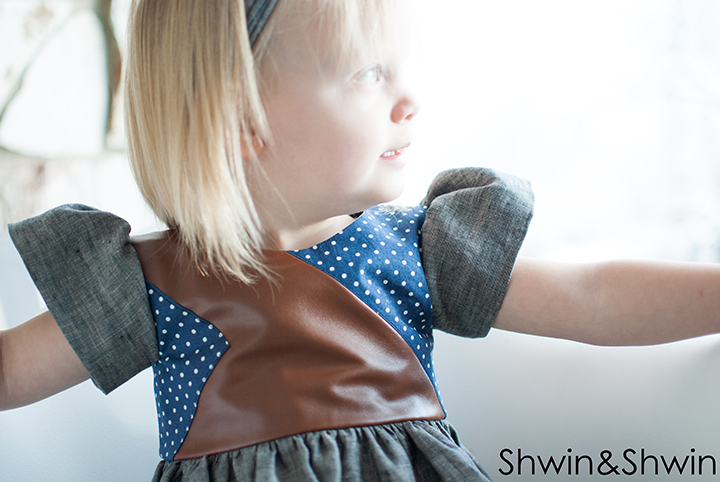 Pieced Bodice Dress || Free Pattern