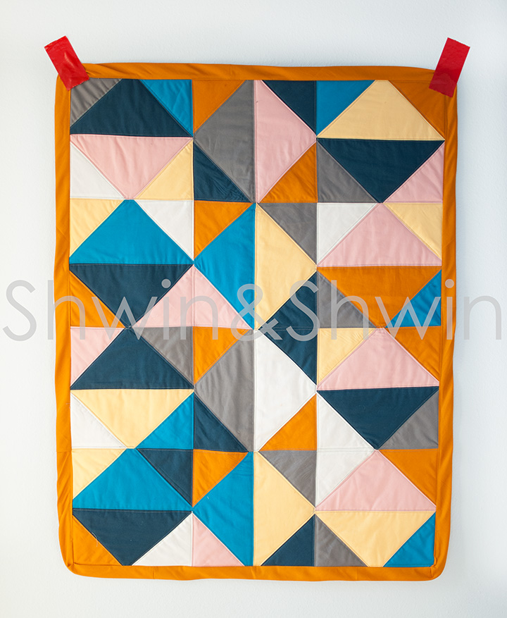 2 Triangle Quilt Shwin And Shwin
