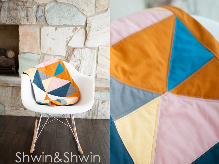 2 Triangles Quilt Pattern || FREE Pattern