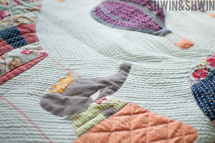 Vintage Babar Inspired Quilt || Free Pattern