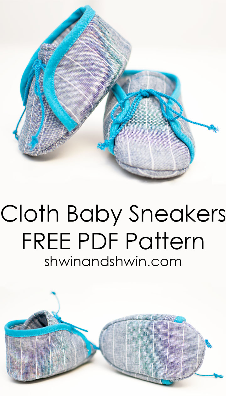 Cloth Baby Sneakers