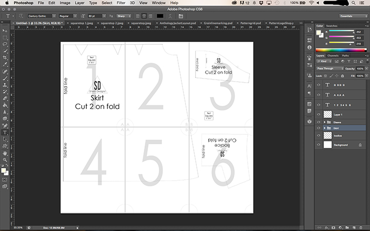 How to make a PDF Pattern in Photoshop || Part IIII