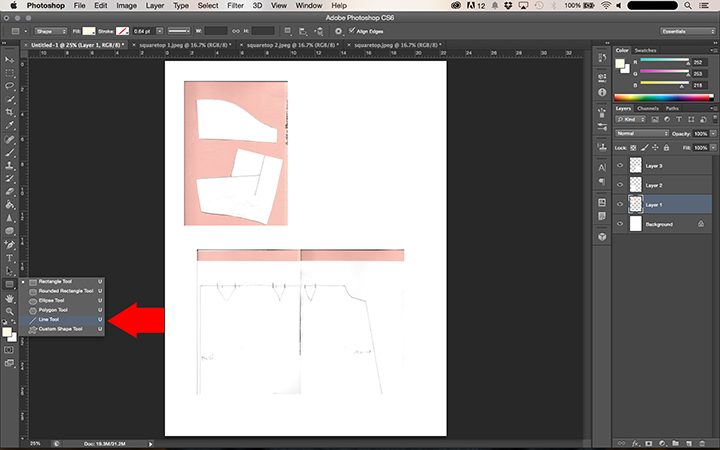 how to make pdf batch photoshop