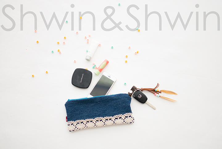 Boho Chic Clutch and Key Ring