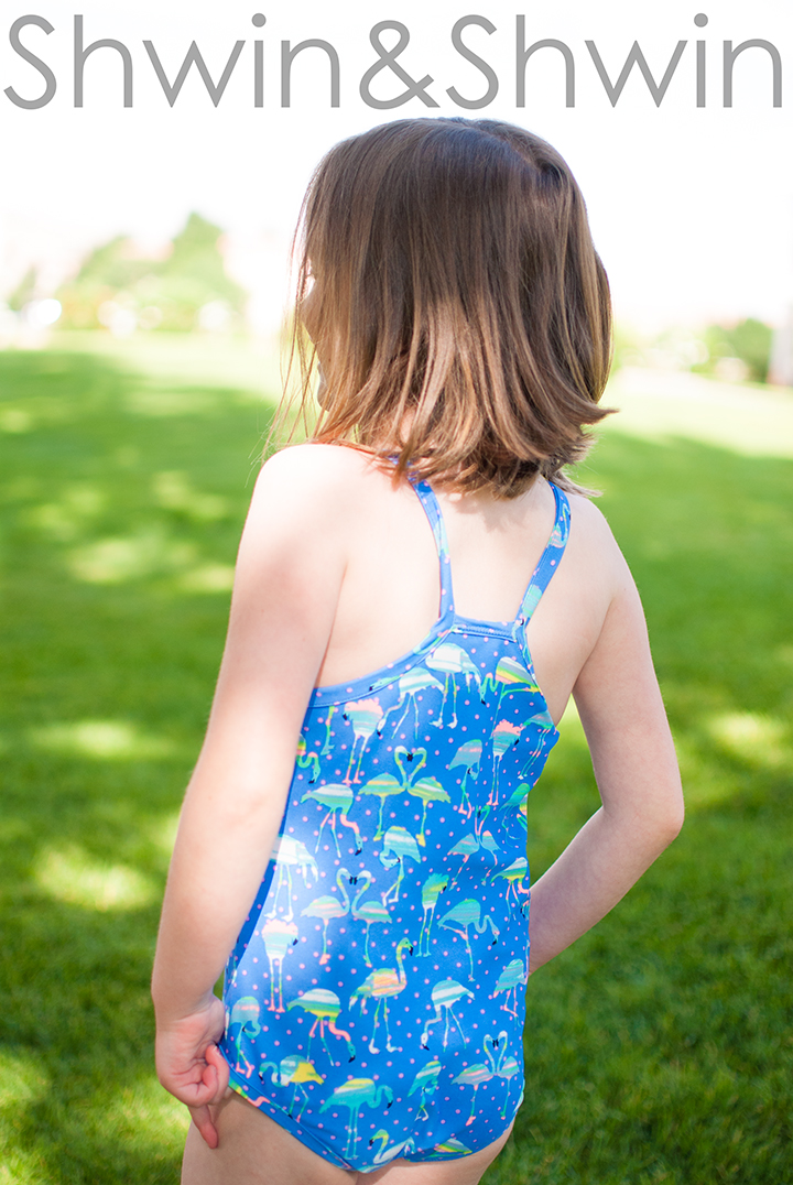 Racer Back Swimsuit || Free Pattern