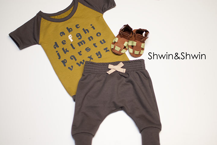 How to make a Raglan Onesie || DIY Modern Baby Clothes