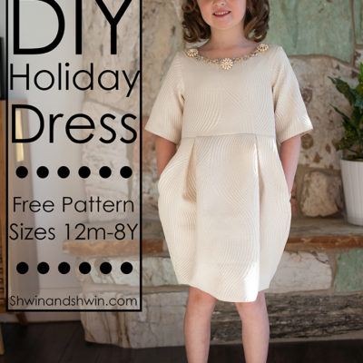 DIY Holiday Dress