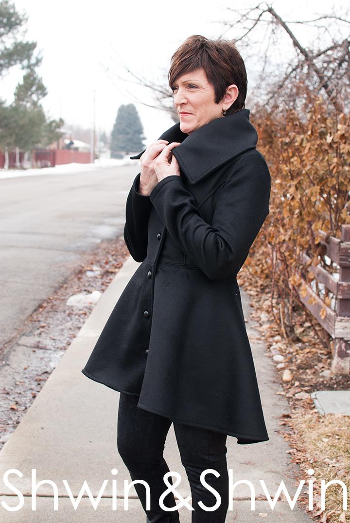 Women's Nina Coat || PDF Pattern by Shwin Designs