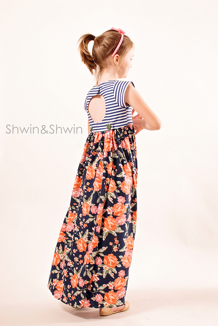London Maxi Pattern    City Girl Collection    Shwin Designs