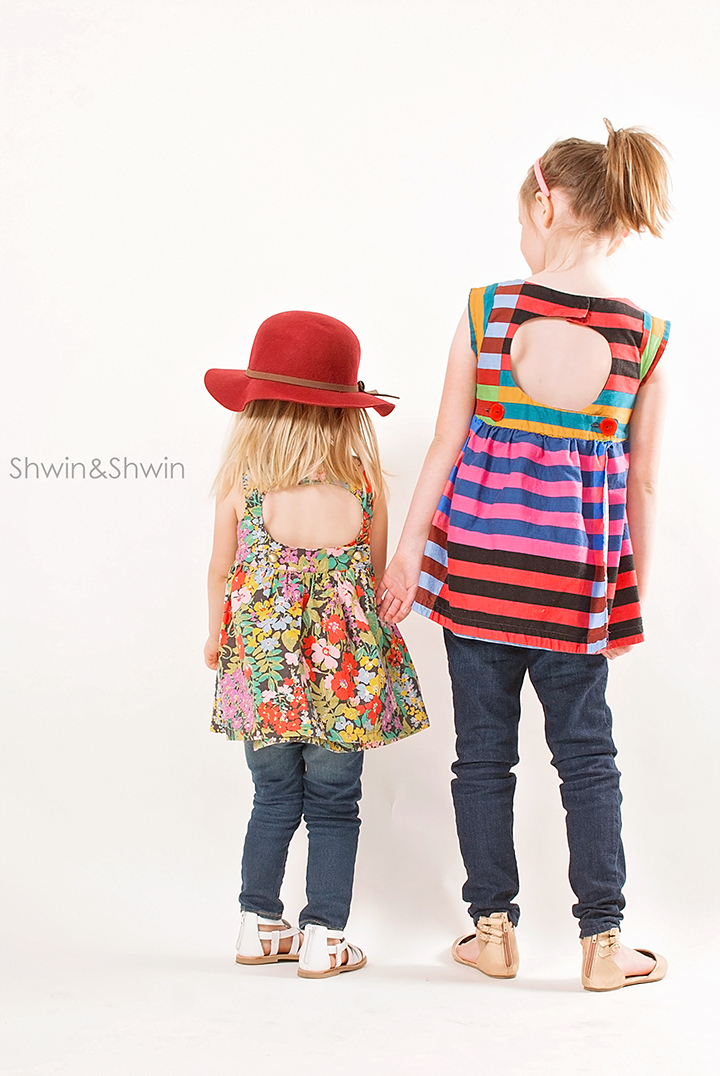 London Top Pattern    City Girl Collection    Shwin Designs