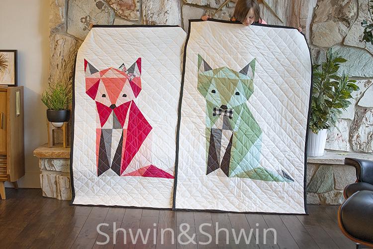 Fox Quilt || Free PDF Pattern