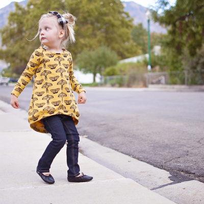 Sequined Raglan Sweatshirt || FREE Pattern