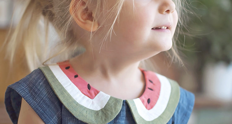 Watermelon Dress || FREE PDF Pattern