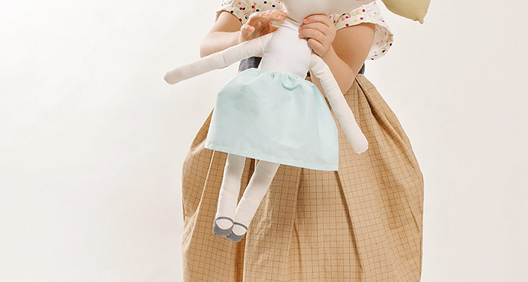 Ice Cream Dress    Doll Fabric Tour