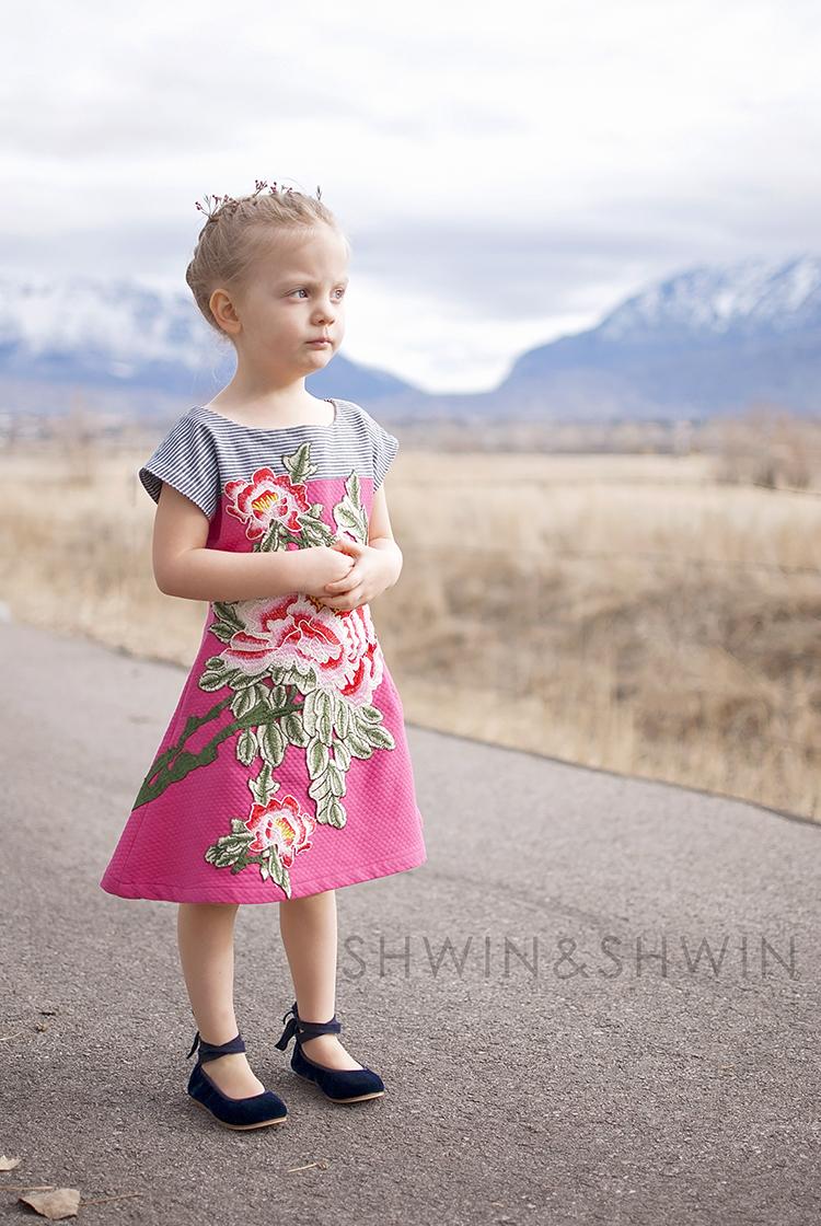 Floral Embroidered Easter Dress || Version 2