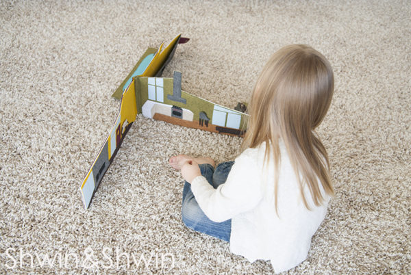 Mid Century Modern Travel Dollhouse with Free Pattern