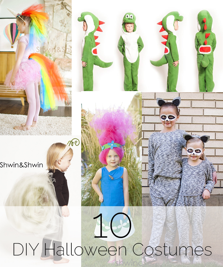 10 DIY Halloween Costumes