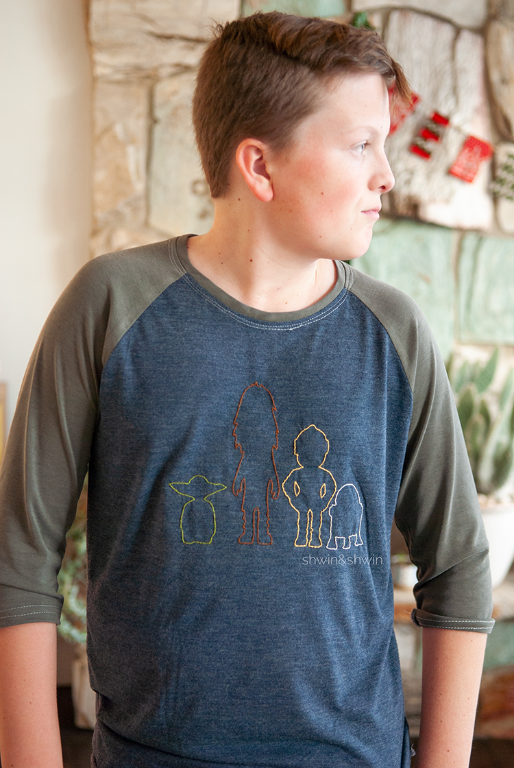 Free Star Wars Embroidery