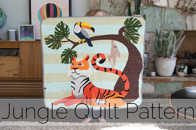 Jungle Quilt Pattern