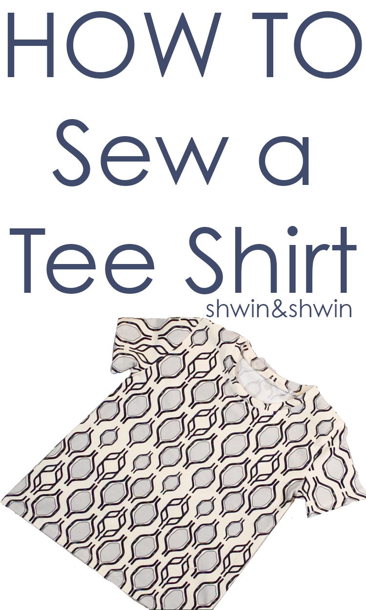 How to Sew a Basic Tee