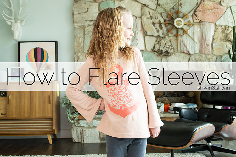 How to add a Flared Sleeve