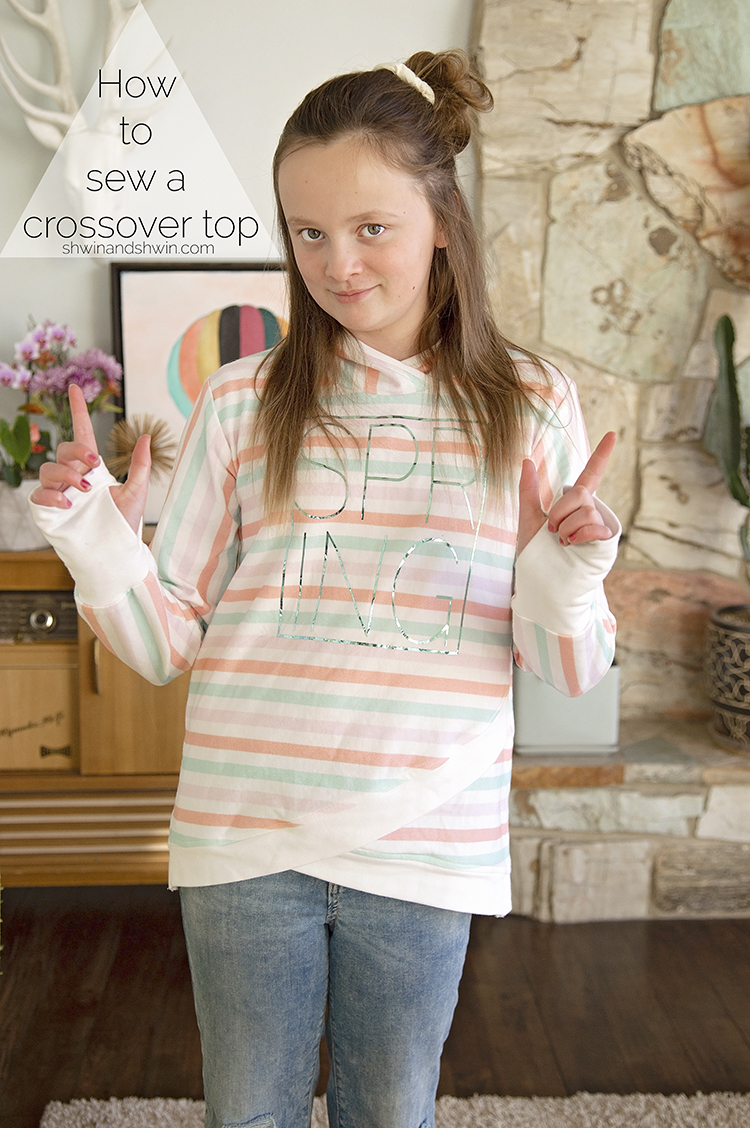 How to make a crossover top