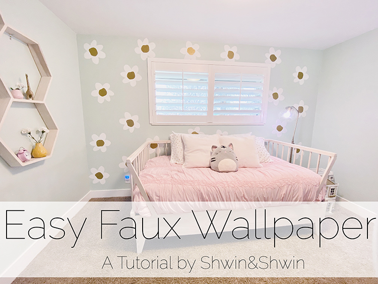 How to make Faux Wallpaper