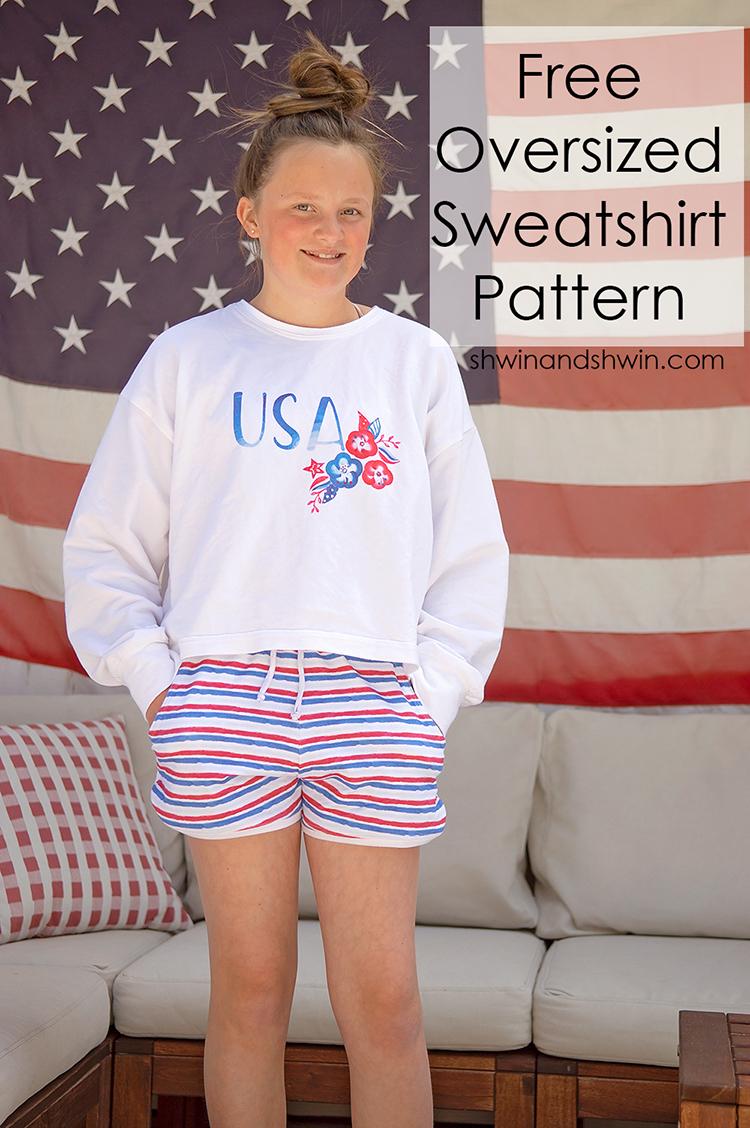 The Oversized Sweatshirt Pattern